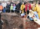 Освящение начала строительства храма 15 ноября 2010 года